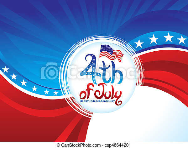 abstract american day background abstract artistic american day