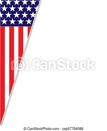 60358389a05c Abstract american flag patriotic frame. United states flag frame ...