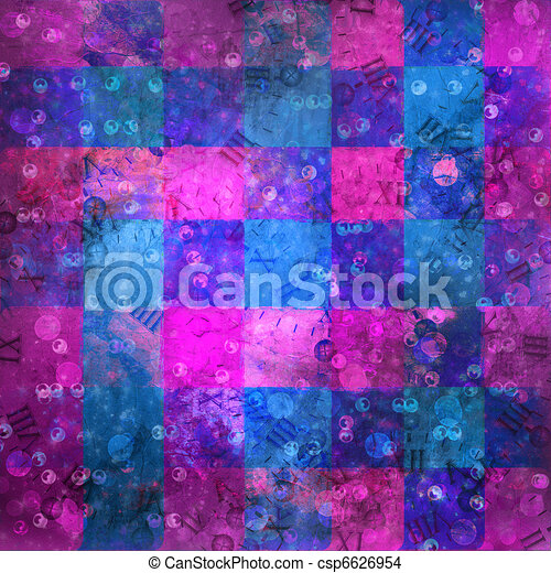 Abstract ancient background in scrapbooking style  - csp6626954