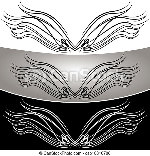 Abstract Angel Wing Set - csp10810706