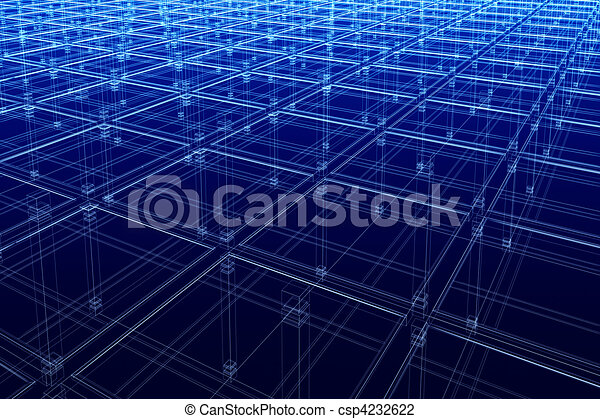abstract architectural surface - csp4232622