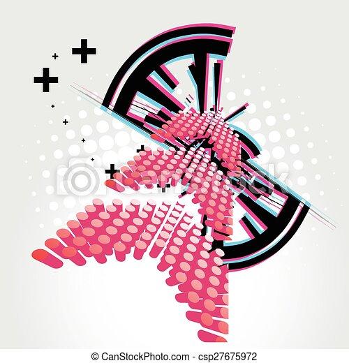 Abstract arrow design - csp27675972