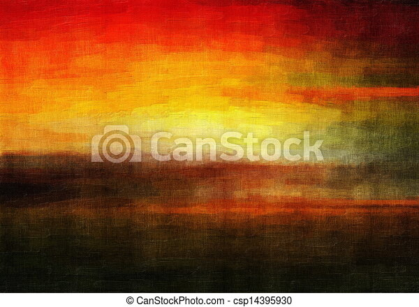 Abstract art background - csp14395930