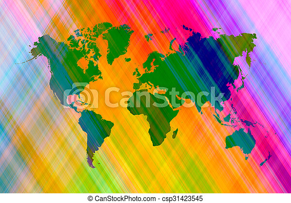 Abstract art background with world map abstract graphic stock abstract art background with world map csp31423545 gumiabroncs Gallery