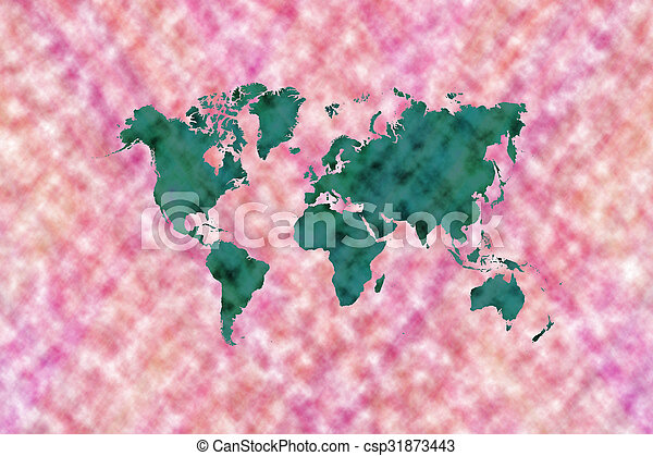 Abstract art background with world map abstract graphic stock abstract art background with world map csp31873443 gumiabroncs Gallery