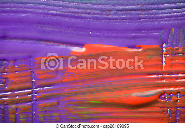 Abstract art backgrounds. Hand-painted background - csp26169095