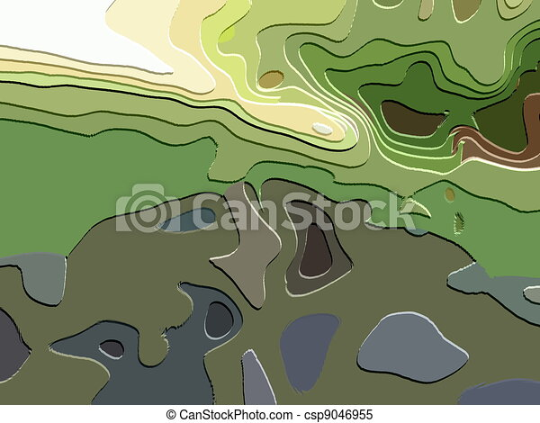 Line Art Effect Photo : Abstract art effect stock illustrations search clipart drawings