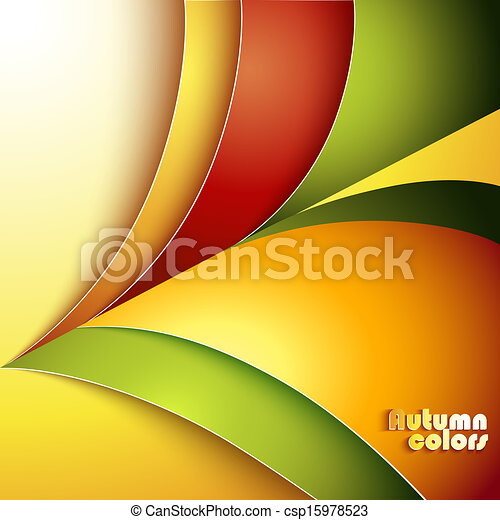 Abstract autumn background - csp15978523