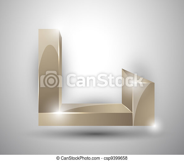 abstract background - 3d figures - csp9399658