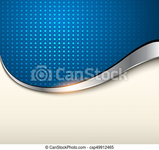 Abstract background blue - csp49912465