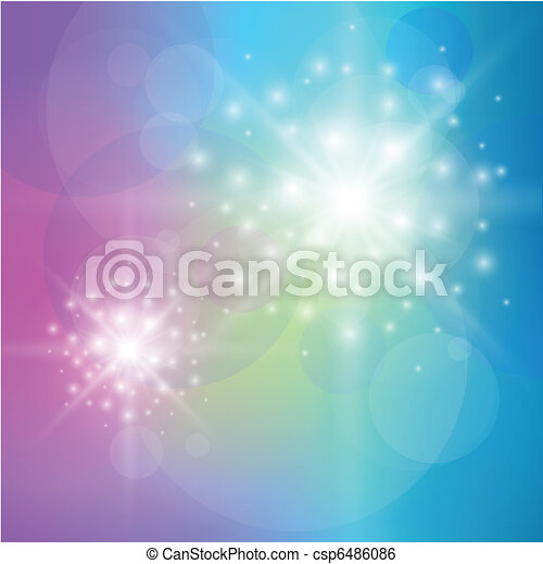 Abstract background blue  - csp6486086