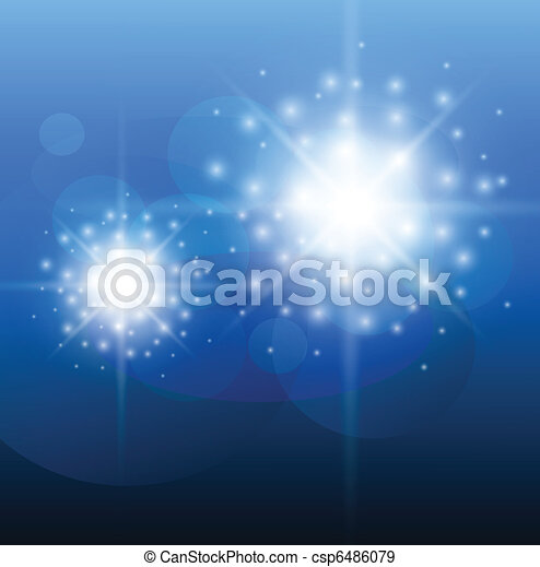 Abstract background blue  - csp6486079