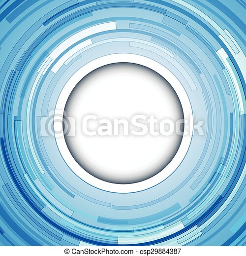 Abstract  background blue - csp29884387