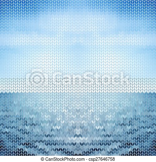abstract background blue sea.  - csp27646758