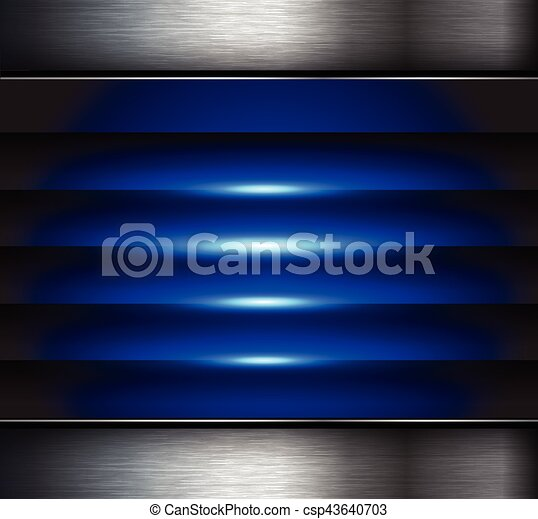 Abstract  background blue - csp43640703