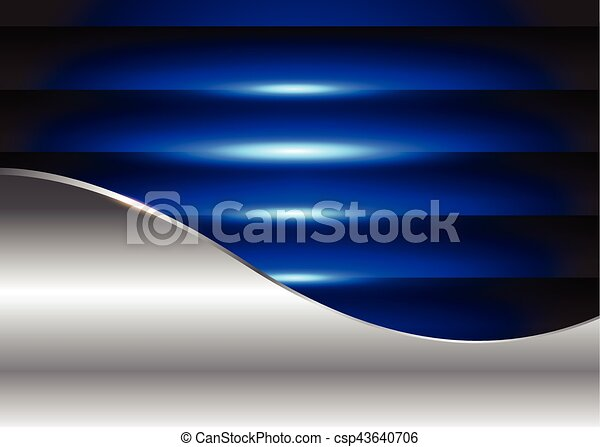 Abstract  background blue - csp43640706