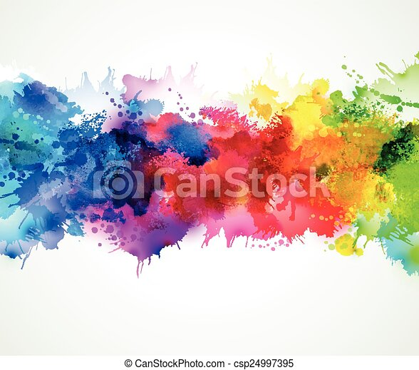 Abstract background design - csp24997395