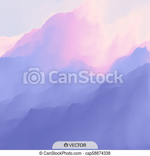 Abstract Background. Design Template. Modern Pattern. Vector Illustration For Your Design. - csp58874338