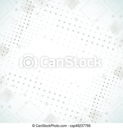 Abstract background. Dotted Vector theme. - csp49237766