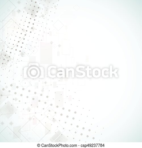 Abstract background. Dotted Vector theme. - csp49237784