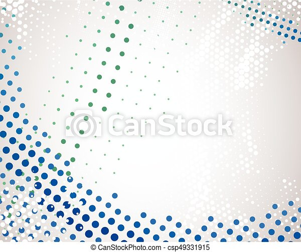Abstract background. Dotted Vector theme. - csp49331915