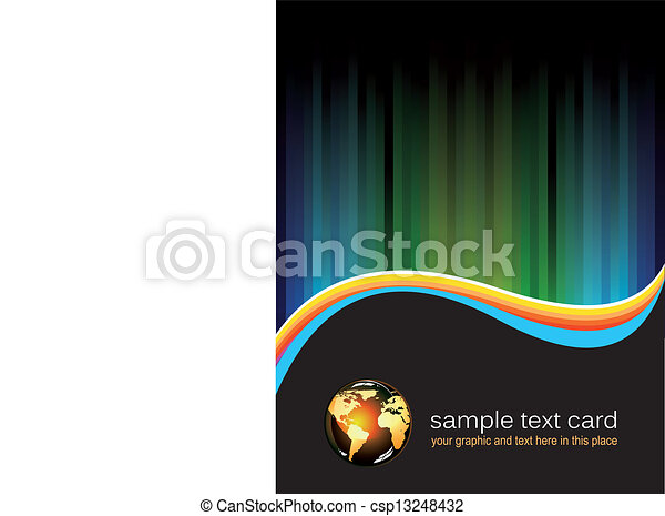 Abstract Background for Business Flyer - csp13248432