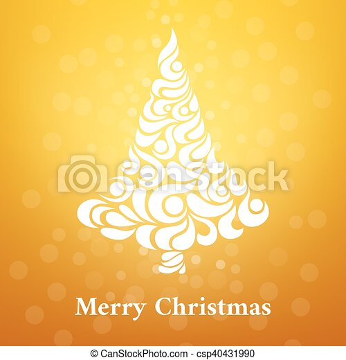 Abstract background in a Christmas style. - csp40431990