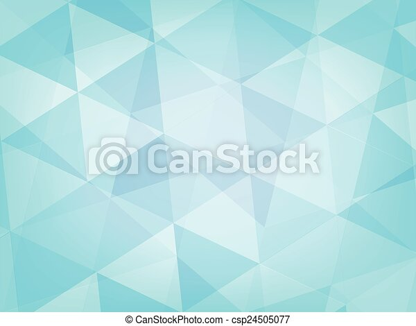 Abstract Background Light Blue Triangle Style