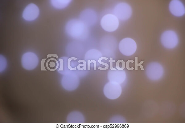 abstract background light Bokeh. - csp52996869