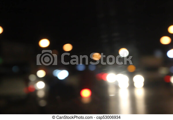 abstract background light Bokeh. - csp53006934