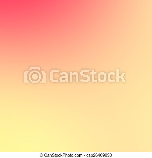 Abstract background - light golden color. Smooth gradient backgr - csp26409030