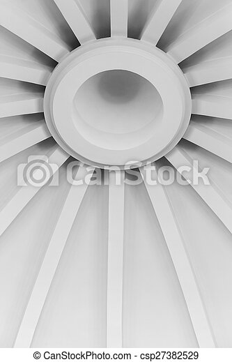 abstract background of a roof canopy - csp27382529