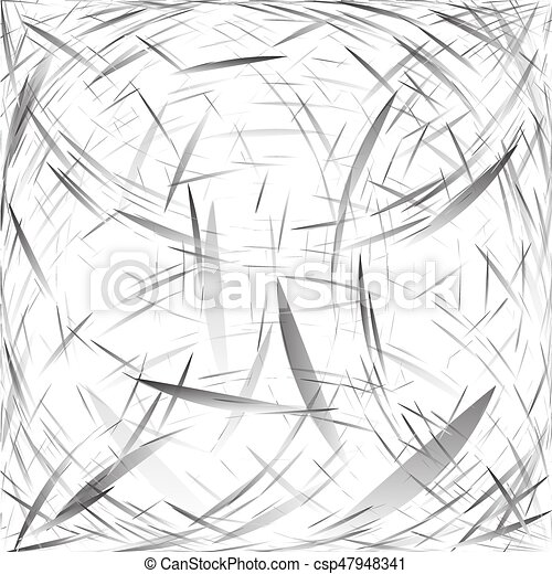Abstract background of abstract elements. Monochrome drawing in gray and silver tones. Vector. - csp47948341