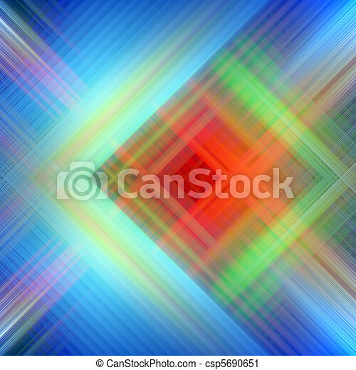 Abstract Background Of Colorful Diagonal Lines