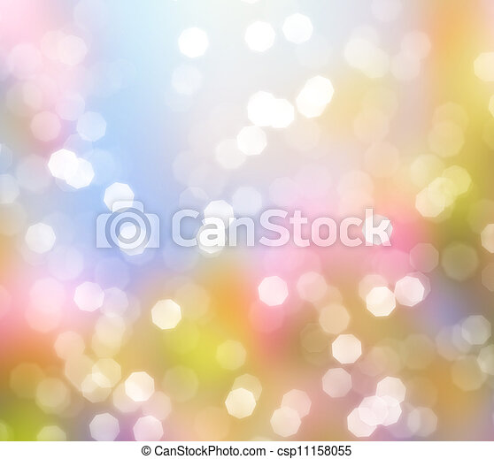Abstract background of glittering lights - csp11158055