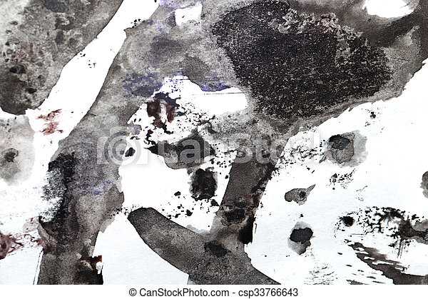 abstract background of watercolor - csp33766643