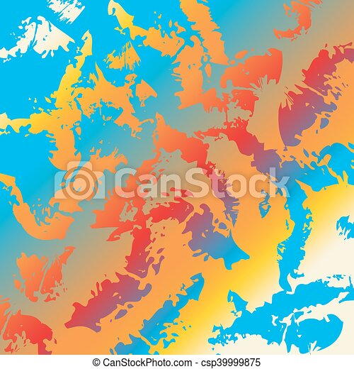Abstract background Rainbow colors - csp39999875