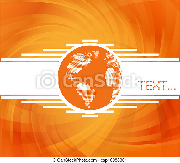 Abstract background vector - csp16988361
