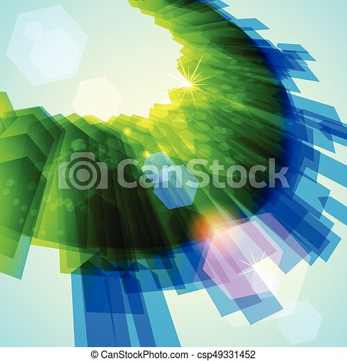 Abstract background. Vector - csp49331452