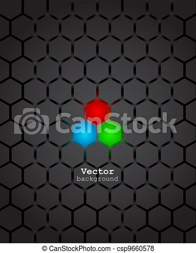 Abstract background. Vector. - csp9660578