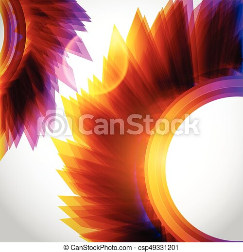 Abstract background. Vector - csp49331201
