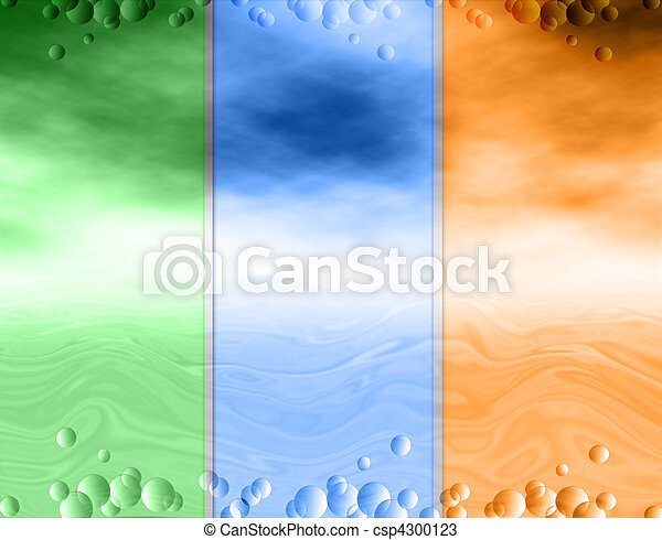 Abstract background, water and sky, drops - csp4300123