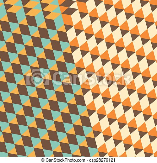 Abstract Background With 3d Effect Vector Illustration
