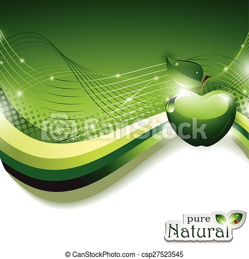 Abstract Background with Apple - csp27523545