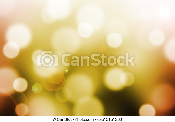 abstract  background with bokeh and lens flare - csp15151360