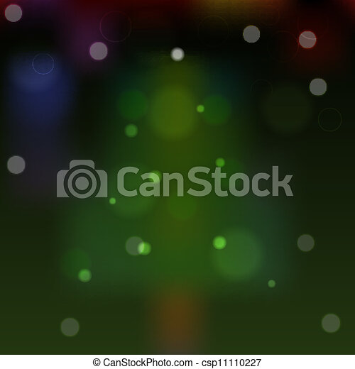 Abstract background with Christmas tree. eps10 - csp11110227