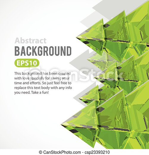 Abstract background with Christmas tree - csp23393210