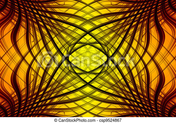 Abstract background with colorful - csp9524867