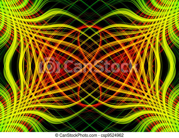 Abstract background with colorful - csp9524962