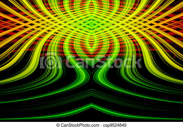 Abstract background with colorful - csp9524849
